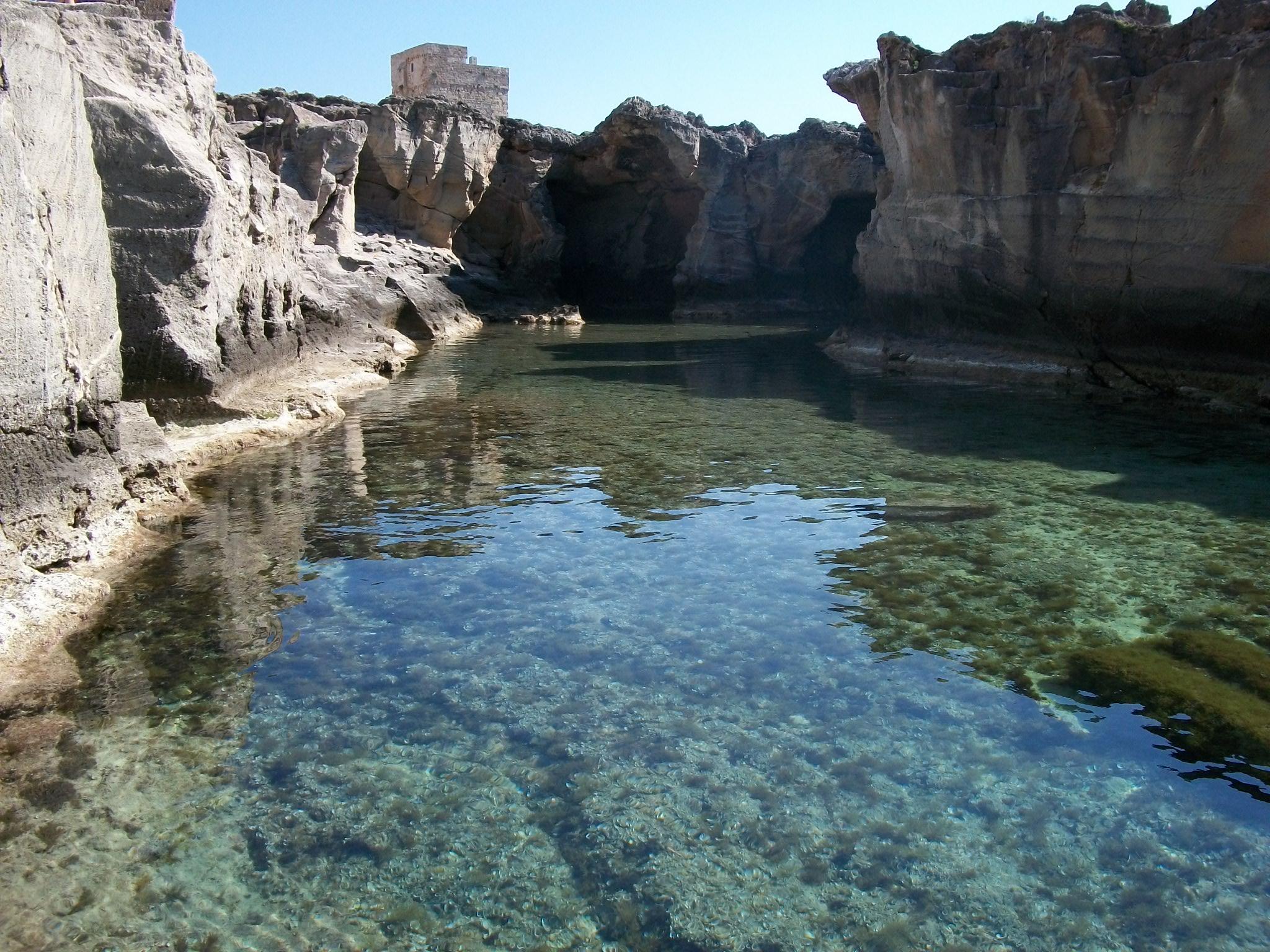 Viaggio in salento - Marina serra piscina naturale ...