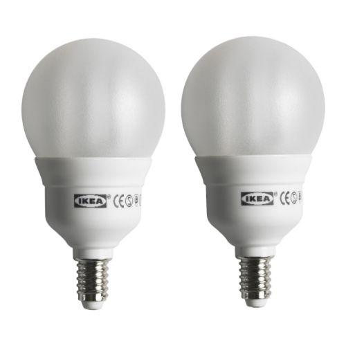 Lampadine fluorescenti compatte e14 - Lampadine basso consumo ikea ...